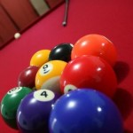 great pool tournament in sense this weekend/how to break in pool