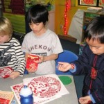 Celebrating Chinese New Year in Grade One