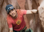 James Franco as Aron Ralston in '127 Hours'