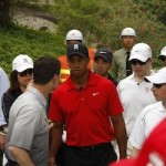 Tiger Woods Visits Mission Hills