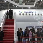 Chinese passenger aircraft unveiled at Paris Air Show