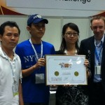 NYPD Pizza won first place in Hong Kong Perfect Pizza Challenge