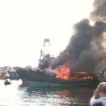 shekou boat fire