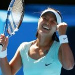 Li Na Starts the Year by Advancing to the Second Round of the Sydney International