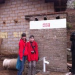 SIS Students Doing Service Learning in Guizhou