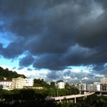 Heavy Rain and Winds to End Heat Wave in the City