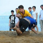 Shenzhen teaches South China teams how to play rugby in Macau