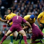 Wallabies vs England at Twickenham