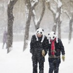 China Issues Orange Alert as Heavy Snowstorms Hits