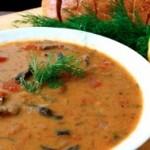nogogo.com - Recipe of the Week: Hungarian Mushroom Soup