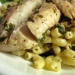 nogogo.com - Recipe of the Week: Pan Seared Lemon Tilapia with Parmesan Pasta