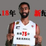 Player Makes 75 points in One Game the Highest in CBA's History