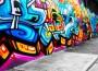 Artists Compete in a Graffiti Contest in Futian District