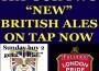 Fantastic New English Ales at the George and Dragon