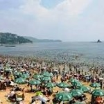 Beach Park Saw Thousands of Visitors during Three day Holiday